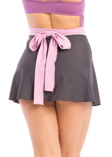Solid Mini Wrap Skirt (more colors)