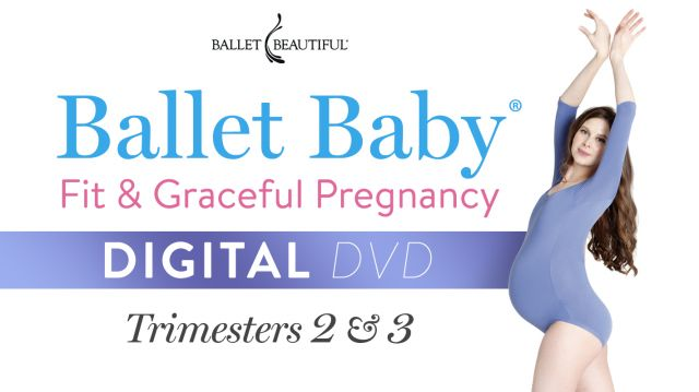 Fit and Graceful, Trimesters 2 & 3: Digital DVD!
