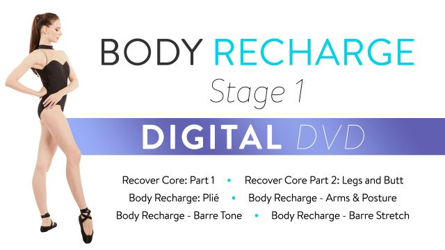 Body Recharge Stage 1: Digital DVD