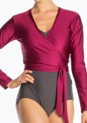 Jersey Wrap Top (more colors)