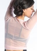 Mesh Ballet Wrap Top (more colors)