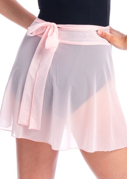 Mesh Wrap Mini Skirt (more colors)