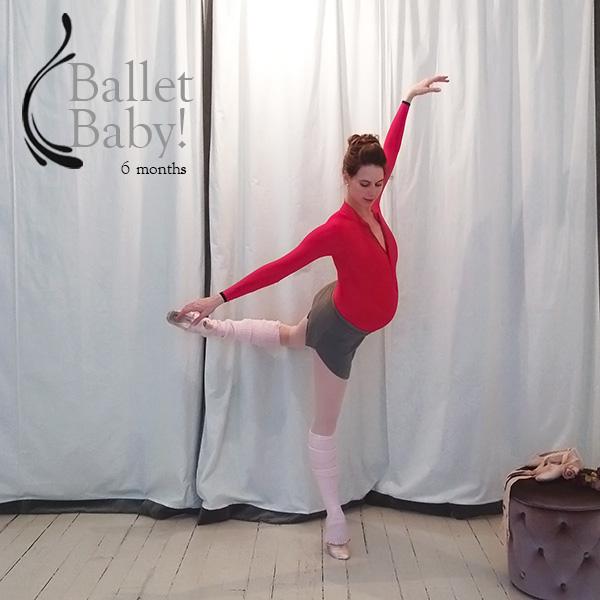 Ballet Baby - 6 Months!