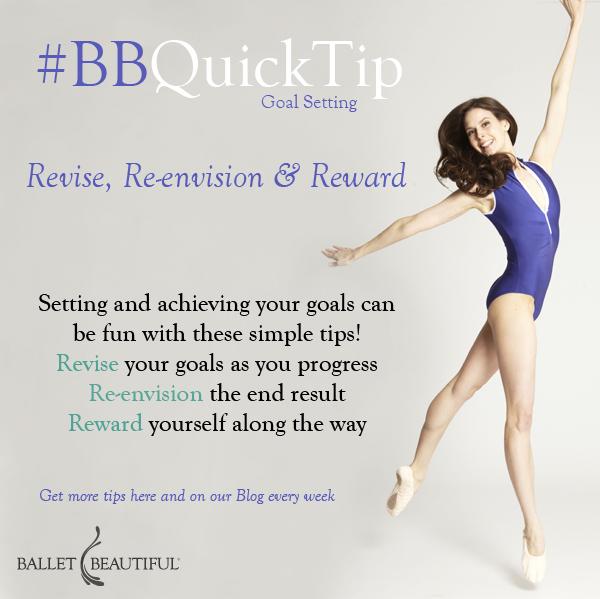 #BBQuickTip Goal Setting