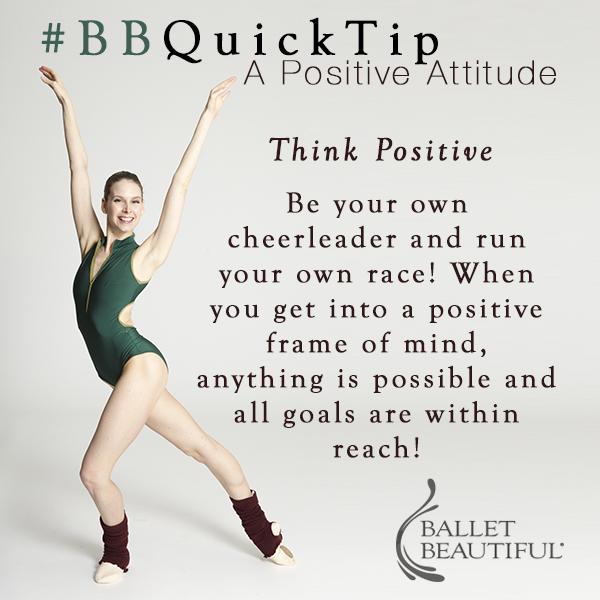 #BBQuickTip Positivity