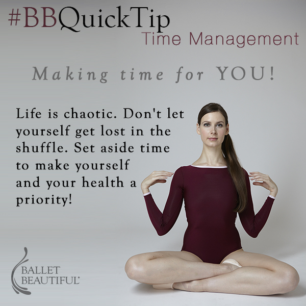 #BBQuickTip Time Management