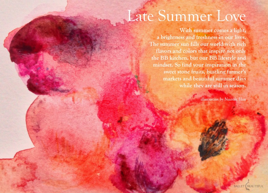 Seasonal Inspiration - Late Summer Love