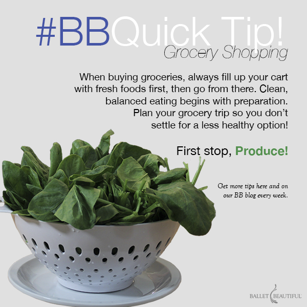 #BBquicktip - Grocery Guide