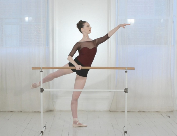 Introducing: Arabesque At The Barre