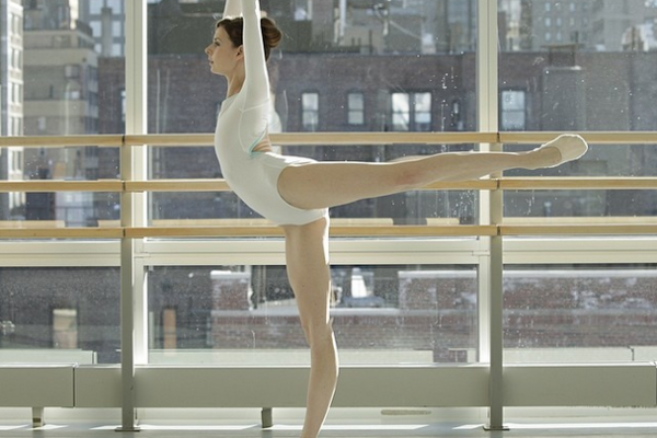 Arabesque At The Barre