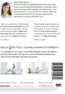 The Ballet Beautiful DVDs are HERE!!!