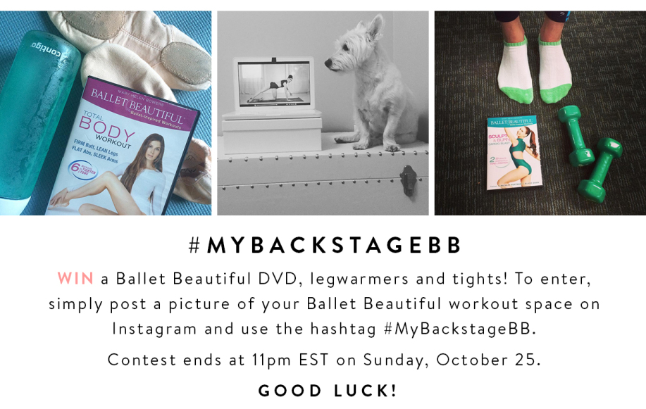 #MyBackstageBB Contest!