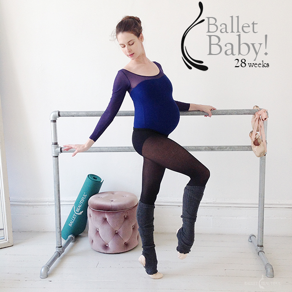 Ballet Baby - 28 Weeks Pregnant!