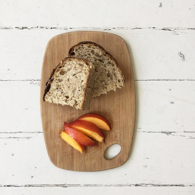Whole Grain Bread with Fresh Fruit