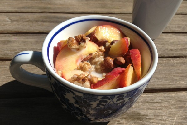 Ask MH - Healthy, Seasonal Oatmeal