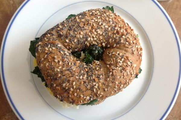 Breakfast Sandwich, Ballet Beautiful Style