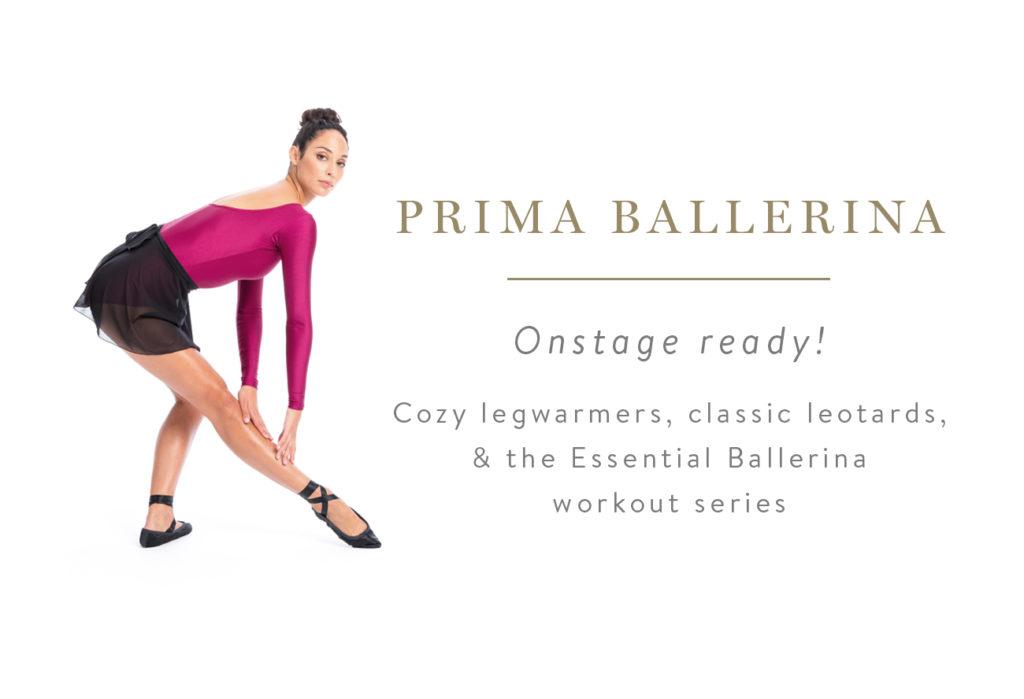 Prima Ballerina - Onstage ready