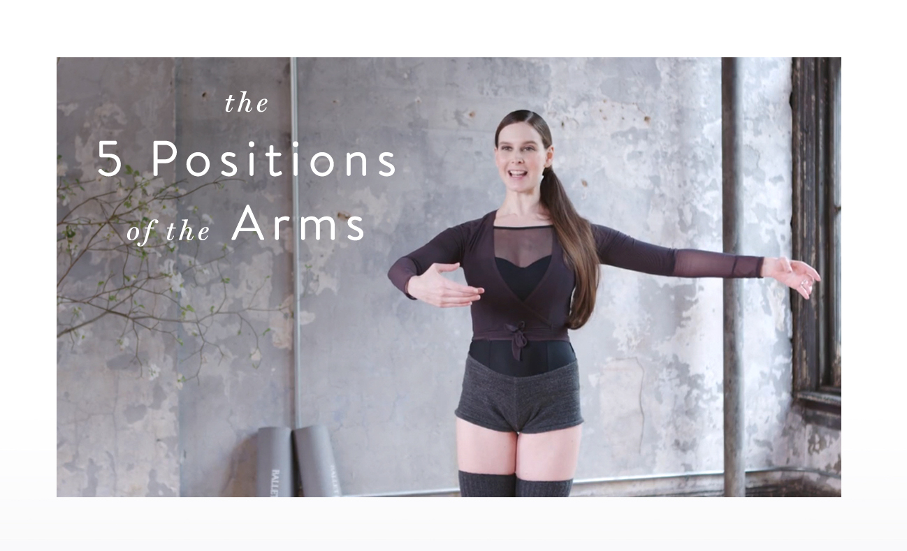 Ballet Glossary: Arm Positions