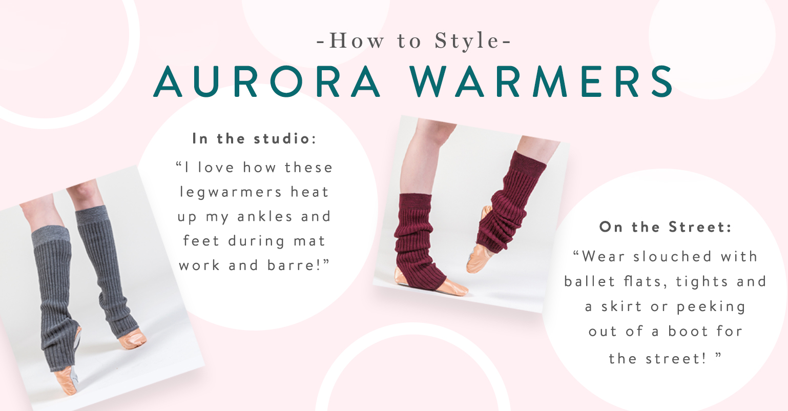 How To Style Your Aurora Legwarmers!
