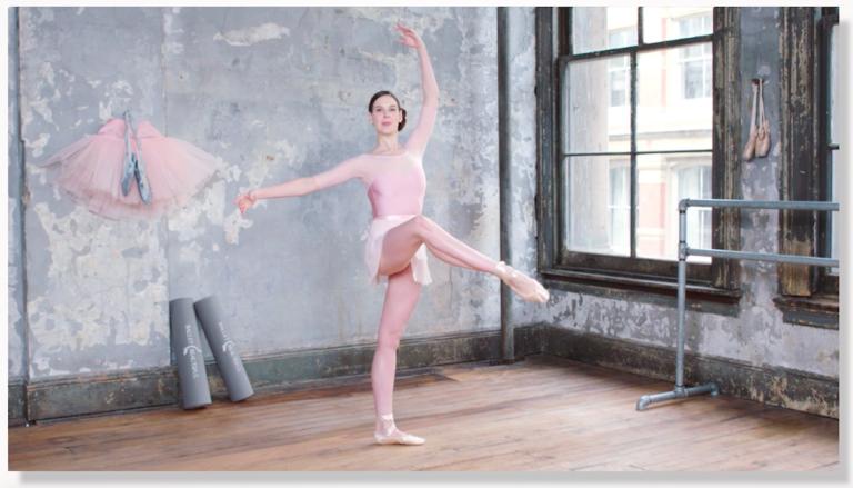 Ballet Glossary: Attitude