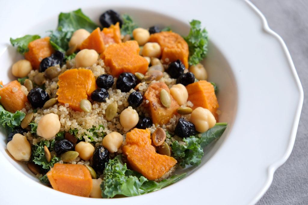 Vegan Protein Salad