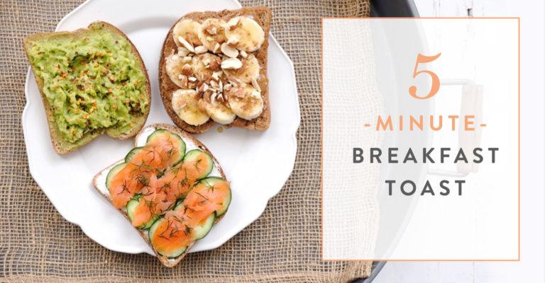 5-Minute Breakfast Toast