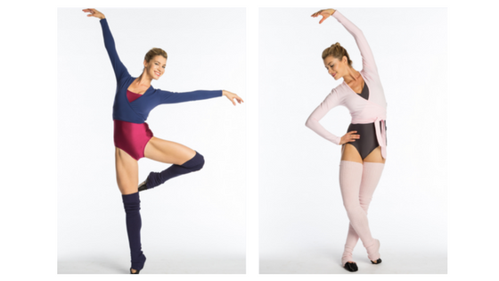 Ballet Beautiful Wrap Tops