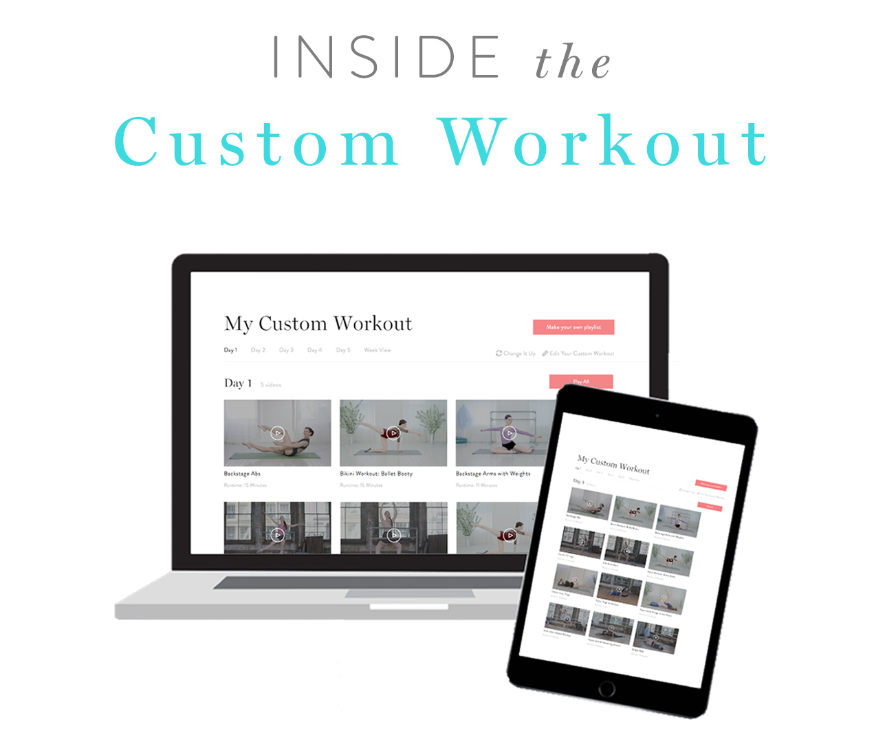 Inside the Custom Workout