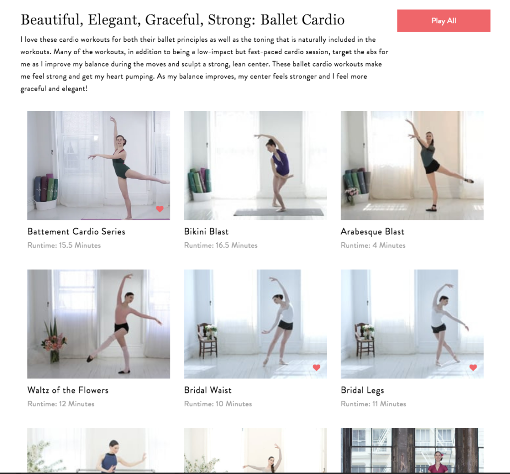 Beautiful, Elegant, Graceful, Strong: Ballet Cardio