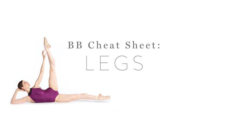 3 Exercises for Ballerina Legs!