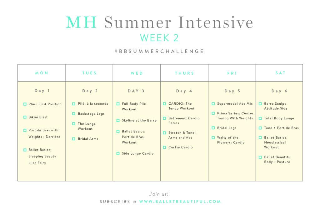 MH Summer Intesive Week 2