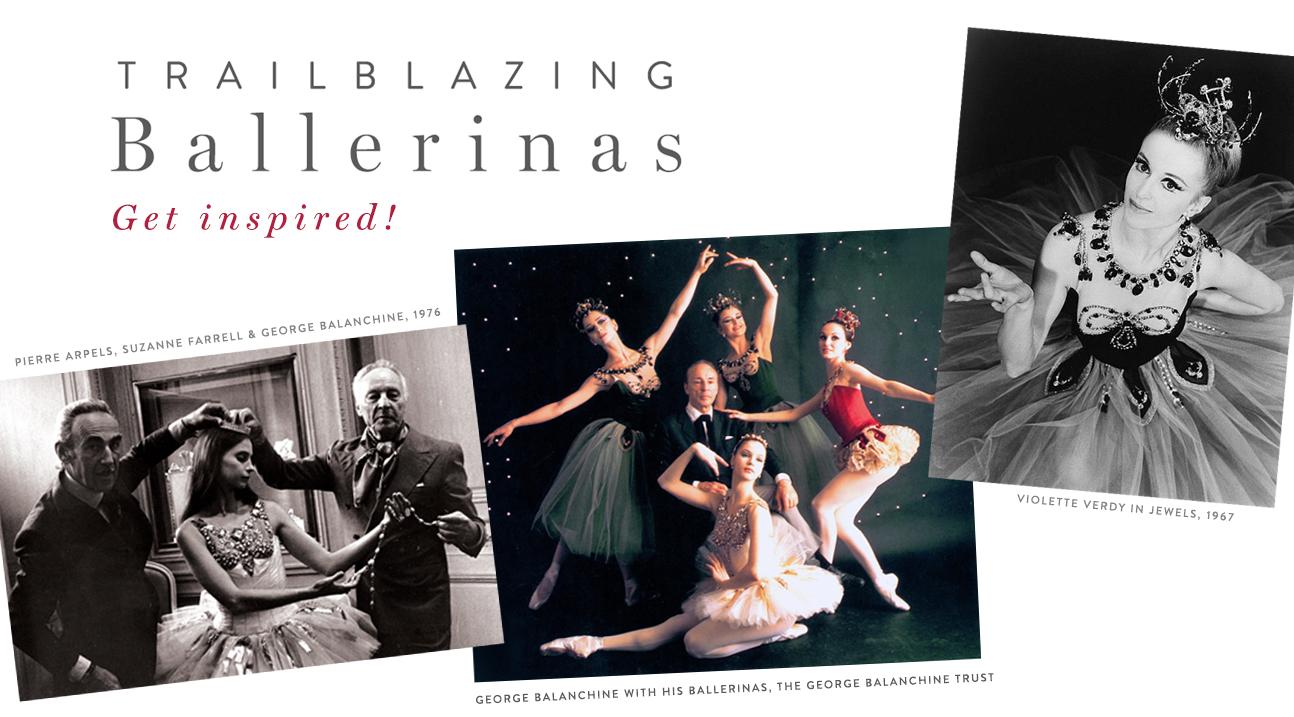 Trailblazing Ballerinas - Jewels Edition!