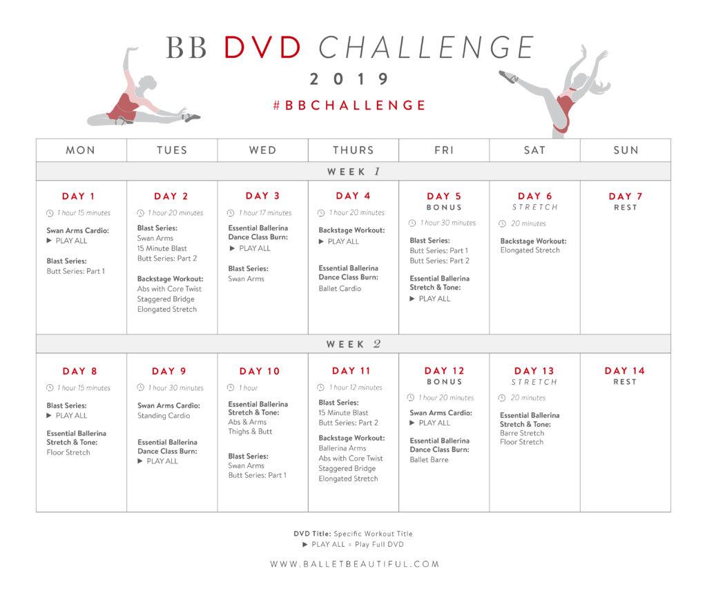 BB DVD Challenge 2019
