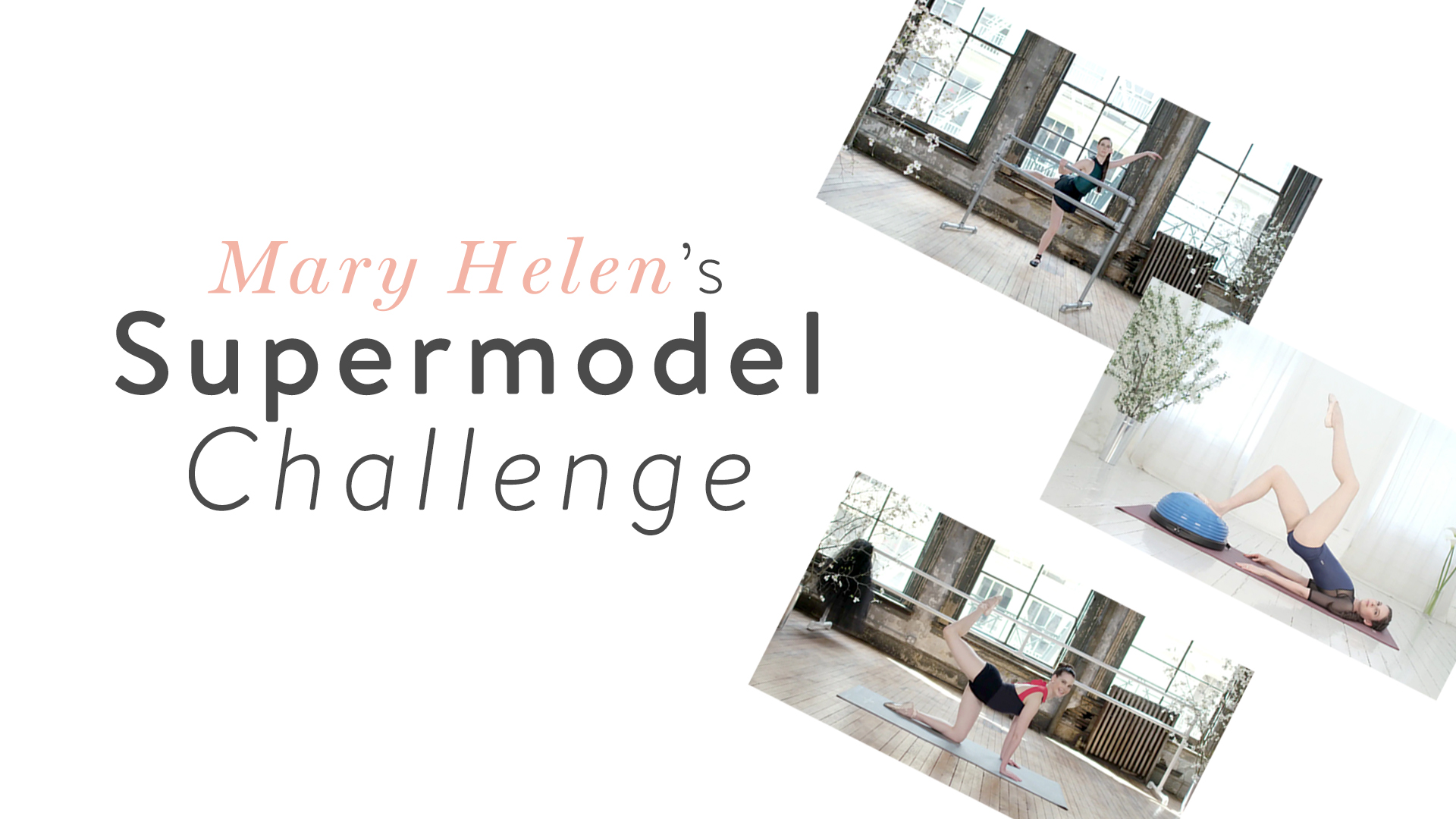Mary Helen's Supermodel Challenge