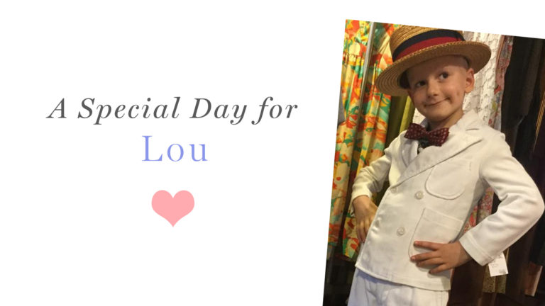 A Special Day of Giving for Lou!