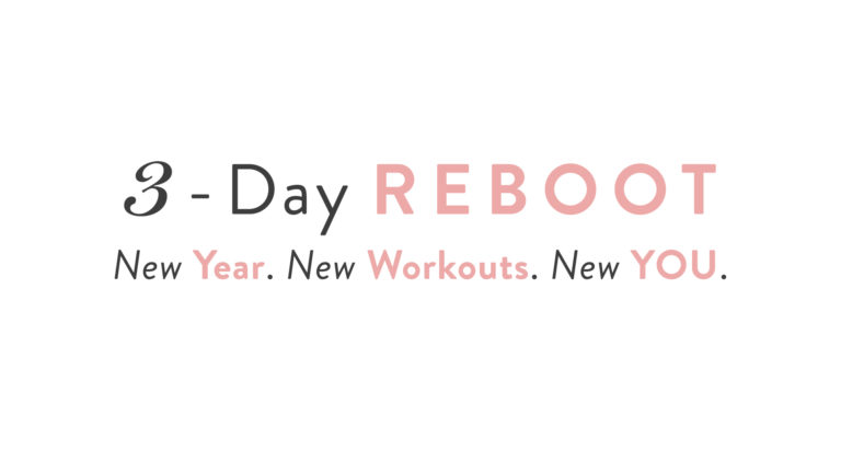 3-Day Reboot!
