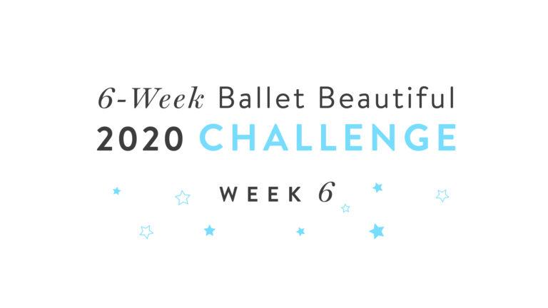 6-Week Challenge: Week 6!