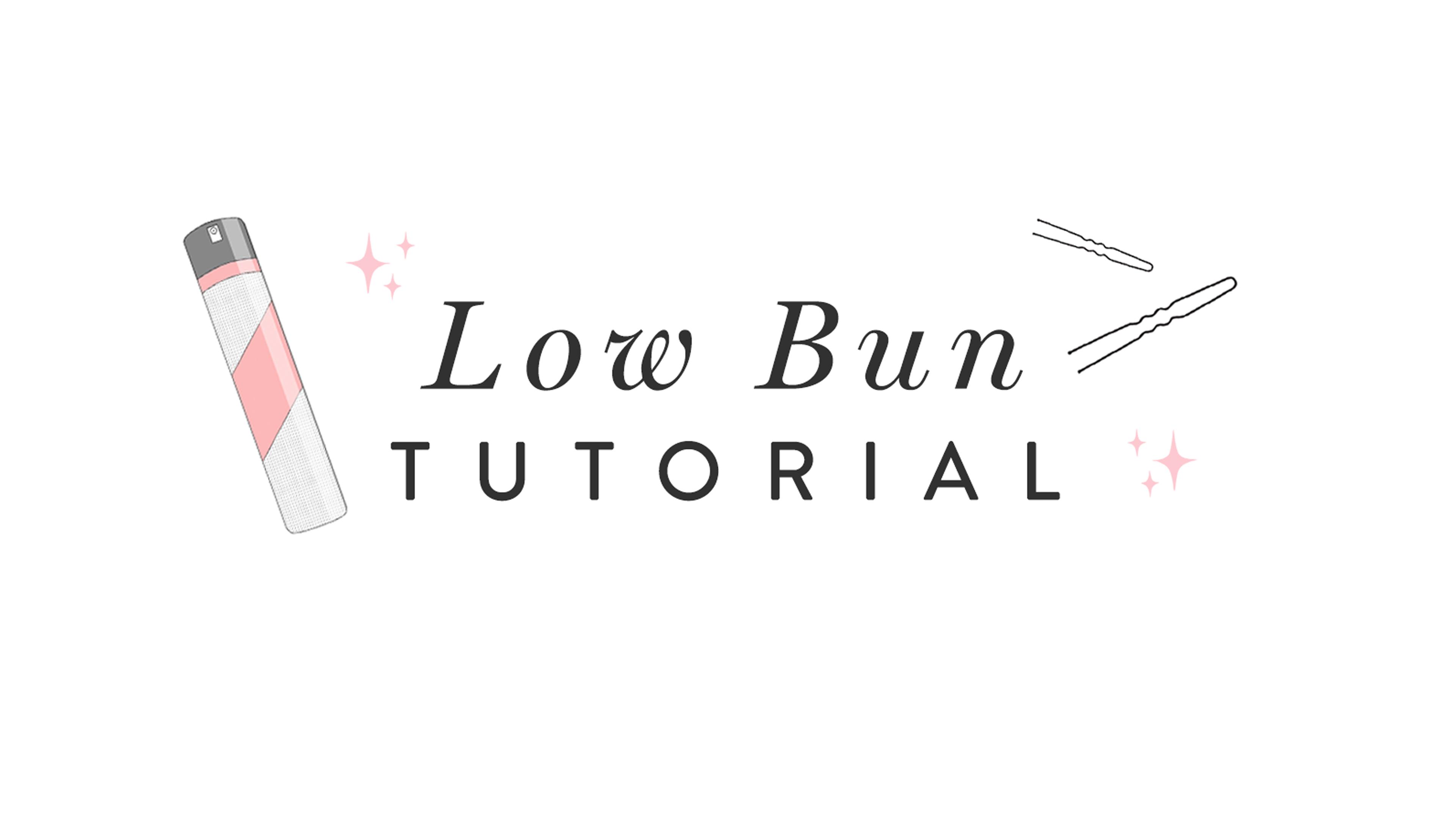 Low Ballerina Bun Tutorial