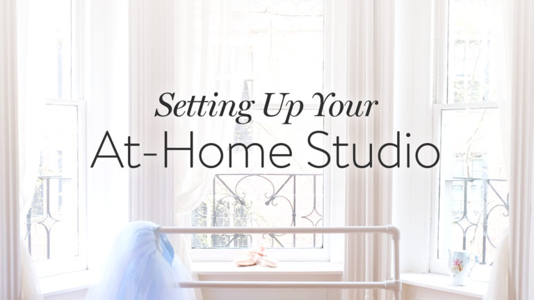 Setting Up Your At-Home Studio