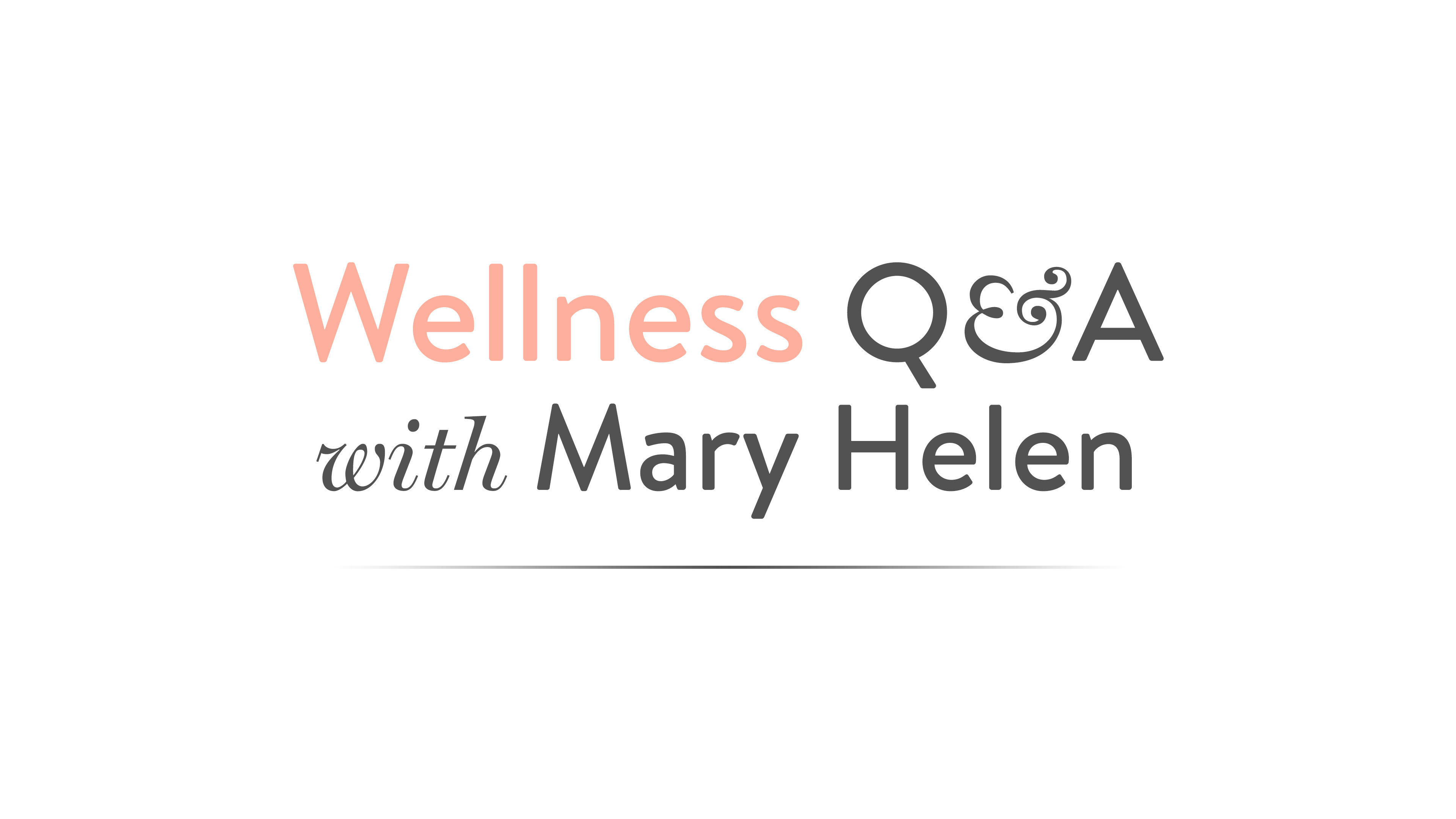 Livestream Wellness Q&A with MHB