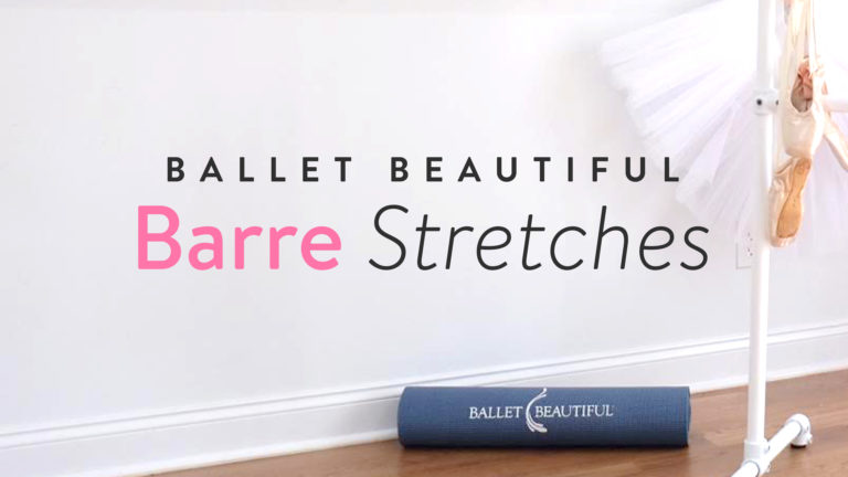 Classic Barre Stretch Break