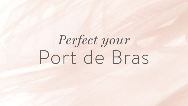 Technique Tips: Perfecting Your Port de Bras