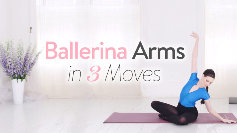 Ballerina Arms in 3 Easy Moves!