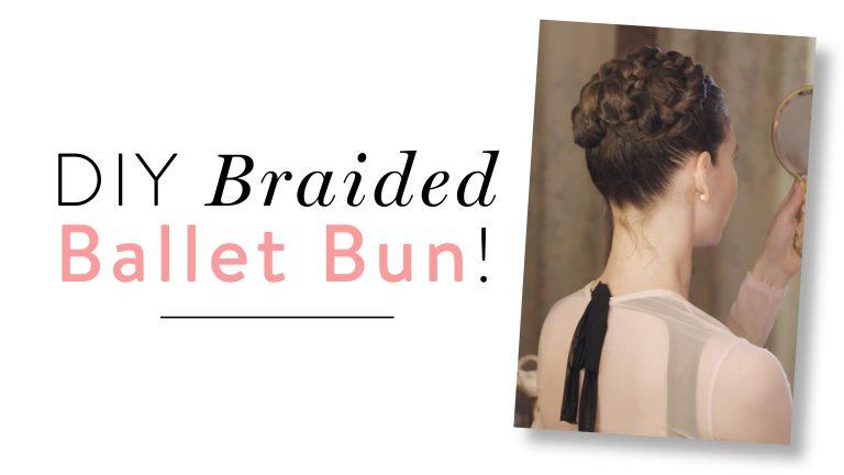 Ballet Style Braided Bun