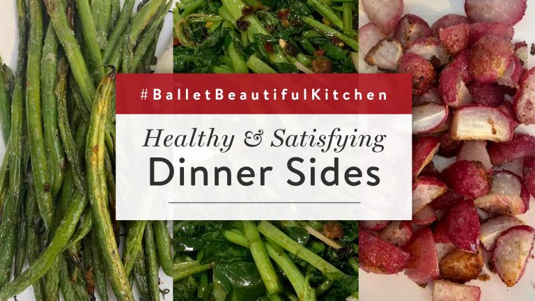 Healthy & Satisfying Dinner Sides